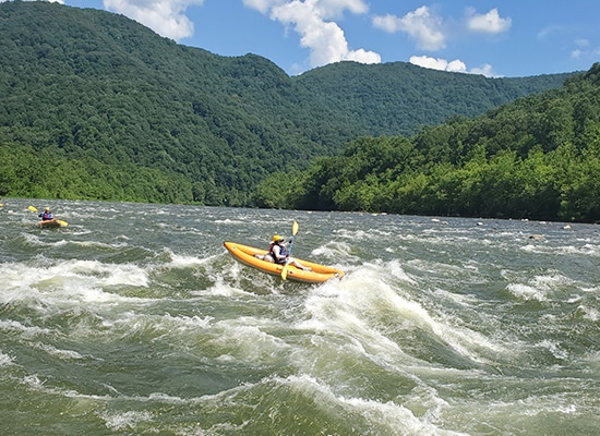 Trip to white water rafting
