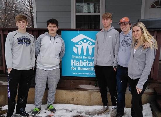 Habitat for Humanity group photo